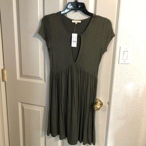 PacSun L.A Hearts Olive Dress
